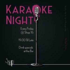 Karaoke Night - Every Friday